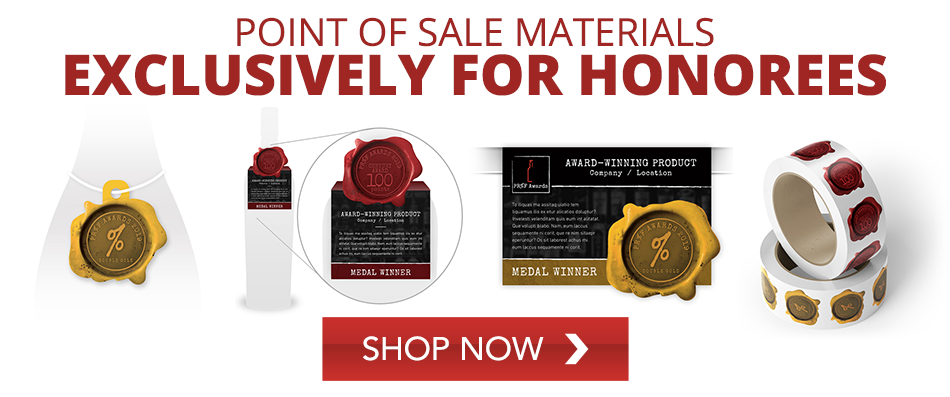 Point of sale materials exclusively for honorees - SHOP NOW