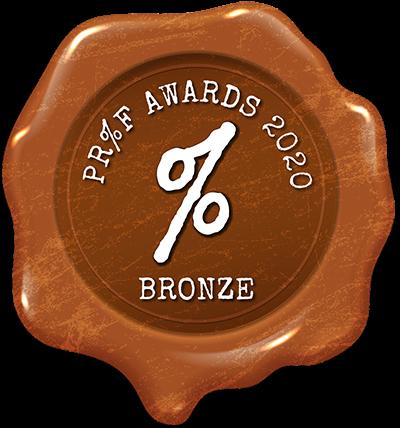 Proof Awards 2020 Bronze
