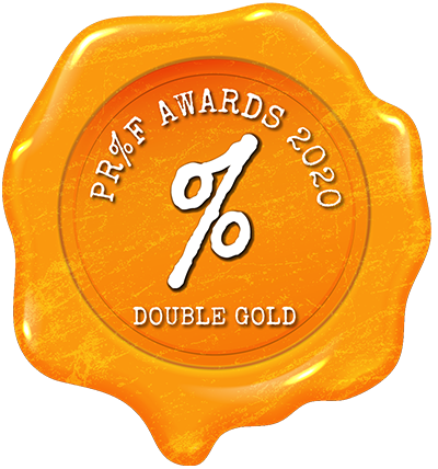 Proof Awards 2020 Double Gold