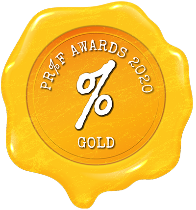 Proof Awards 2020 Gold
