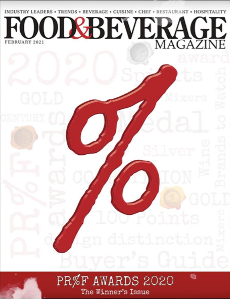 PR%F Awards 2021 – The Winners Magazine
